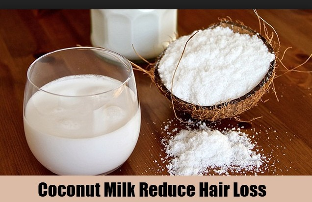 Coconut Milk To Stop Hair Fall