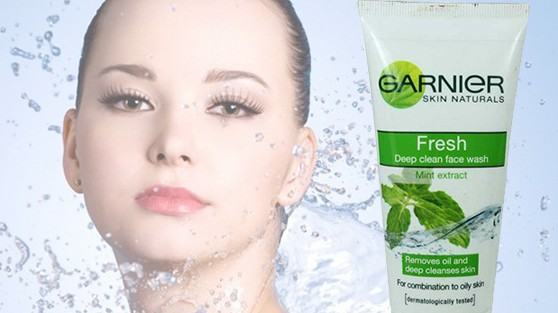 Garnier Skin Naturals Fresh Deep Clean Face Wash Mint Extract