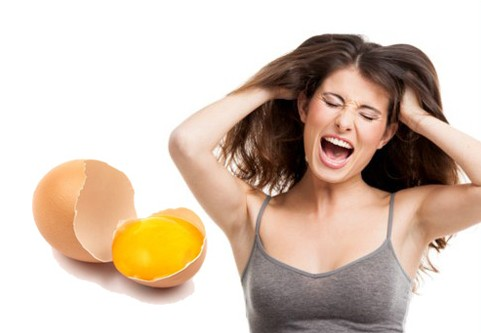 egg yolk for dandruff