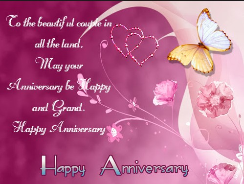 51 happy marriage anniversary whatsapp images wishes quotes for couple happy anniversary wishes with butterfly m4hsunfo