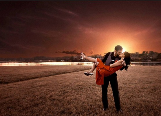 romantic cute couple love hd wall paper
