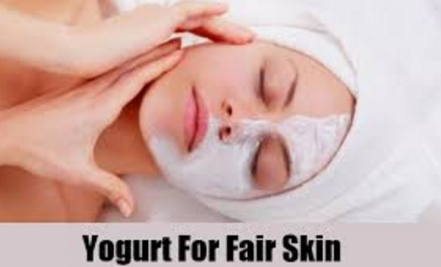 Yogurt To Get Fairer Skin