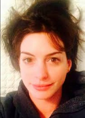 Ann Jacqueline Hathway without make up