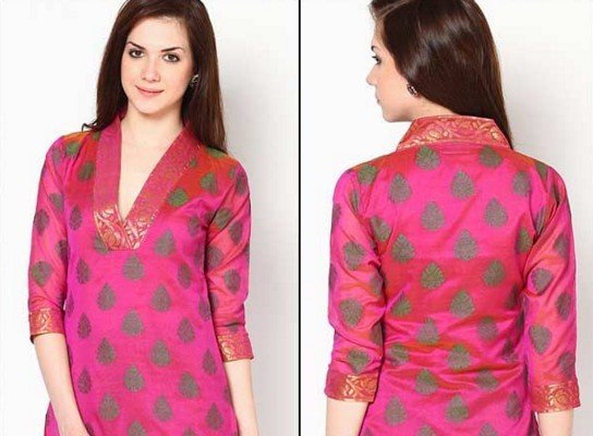 Stylish Churidar Neck Designs For Stitching