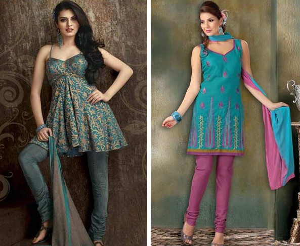 Churidar Neck Designs For Kurtis