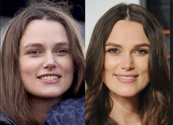 Keira knightley with out make up