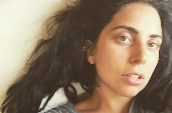 Lady Gaga without make up
