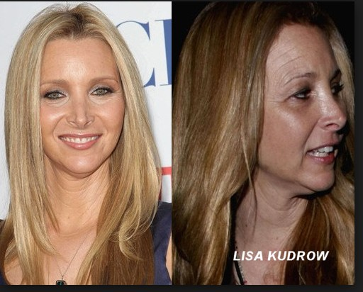 Lisa Kudrow without make up