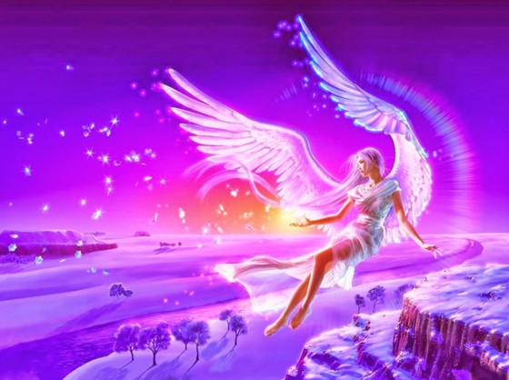 angel barbie doll in night dreams hd wall paper