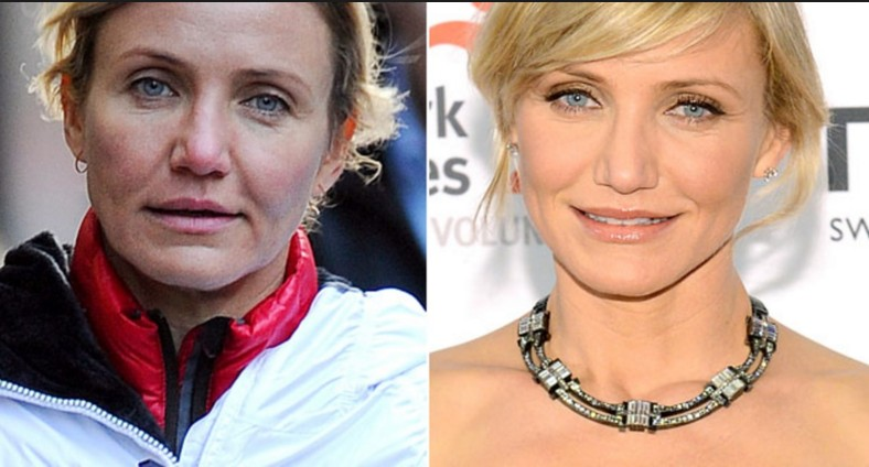 cameron diaz with out make up pics