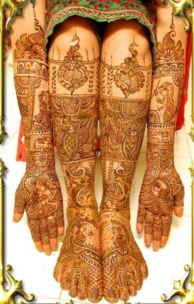 Top 50 Bridal Mehndi Designs For Full Hands Front And Back Step By