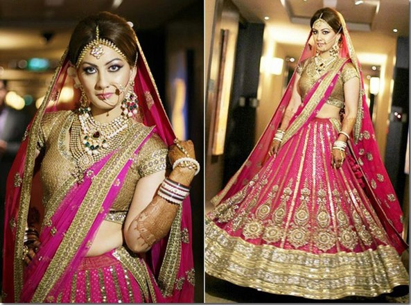 latest collection dulhan lehenga