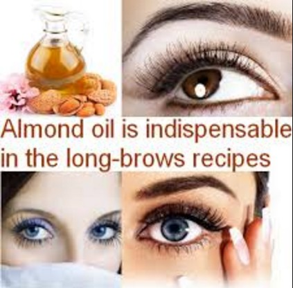 Almond Oil For Thicker Eyebrows