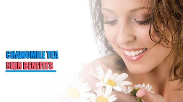 Chamomile Tea Soothes Skin Irritation