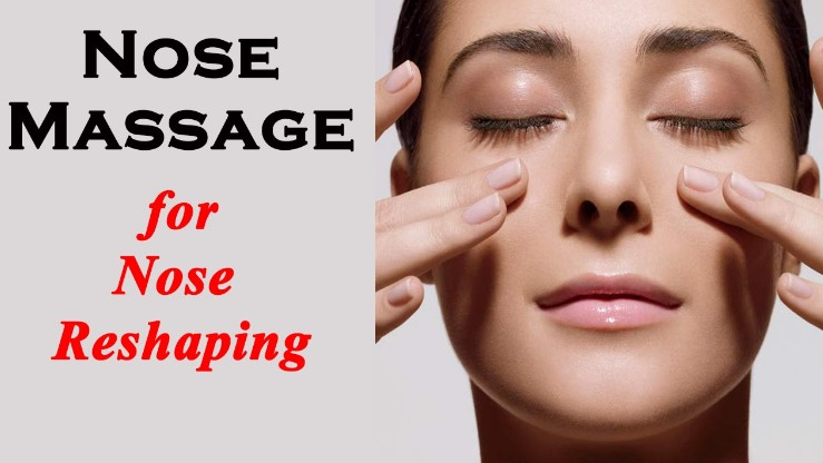 Nose Massaging Exercise To Get Small