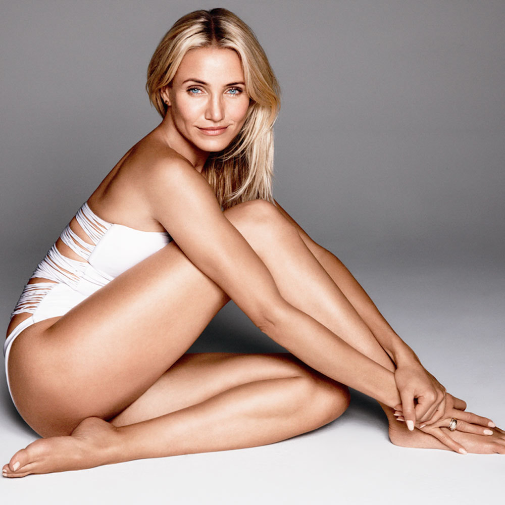 photoshoot of the cameron diaz with out makeup