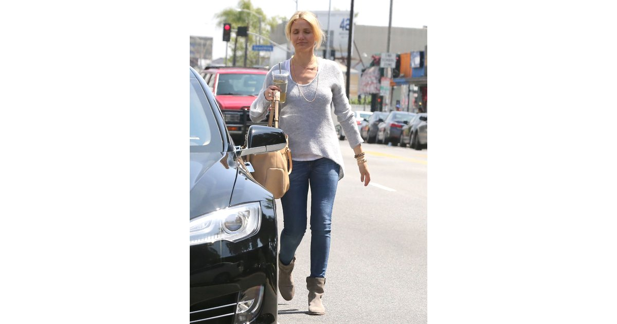 cameron diaz with out makeup before driving
