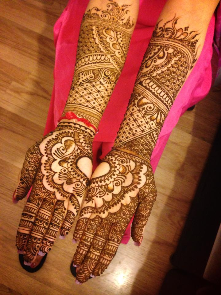 New Bridal Mehndi Designs 2017 For Full Hands: Top 50 Bridal Mehndi Designs for Full Hands Front and Back (step by rh:simplylivingtips.com,Design