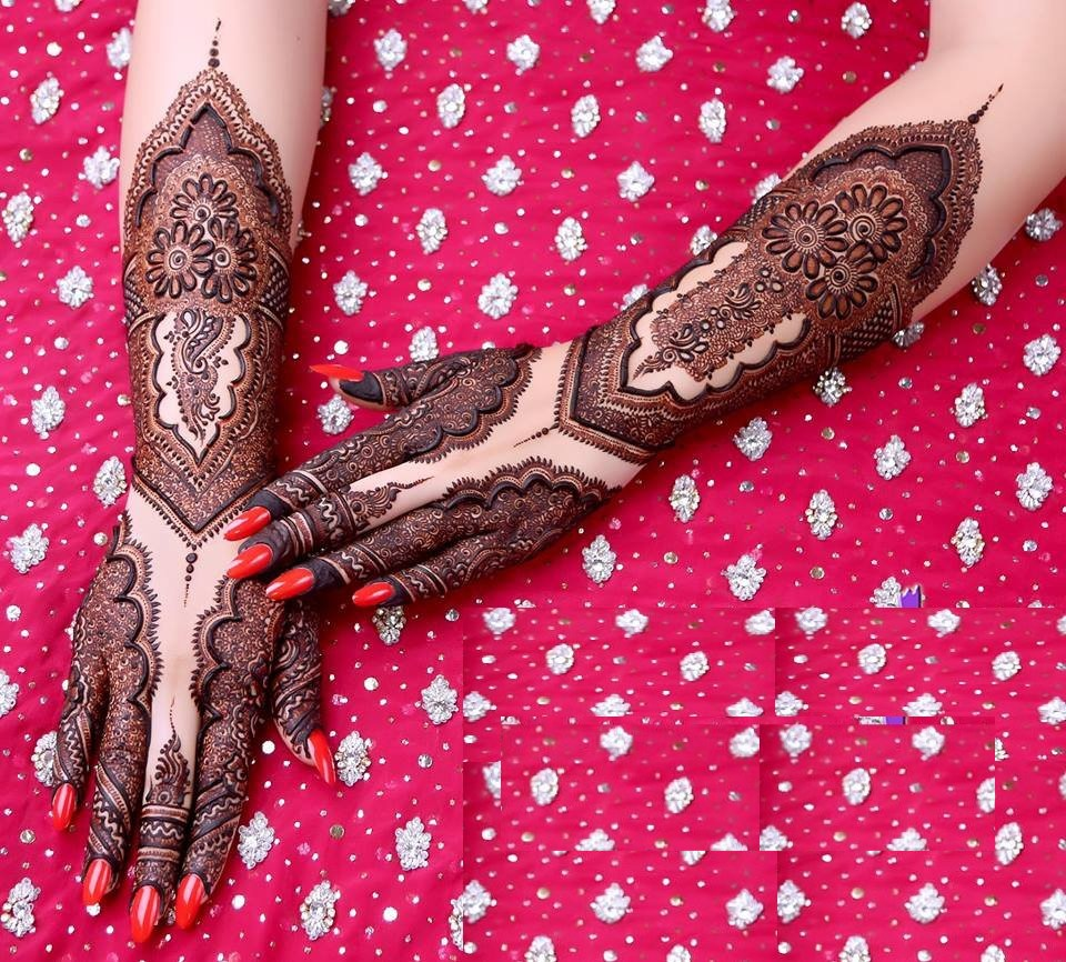 incredible mehndi design