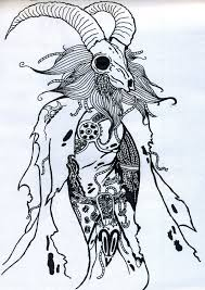 Amazing Capricorn Tattoo Design