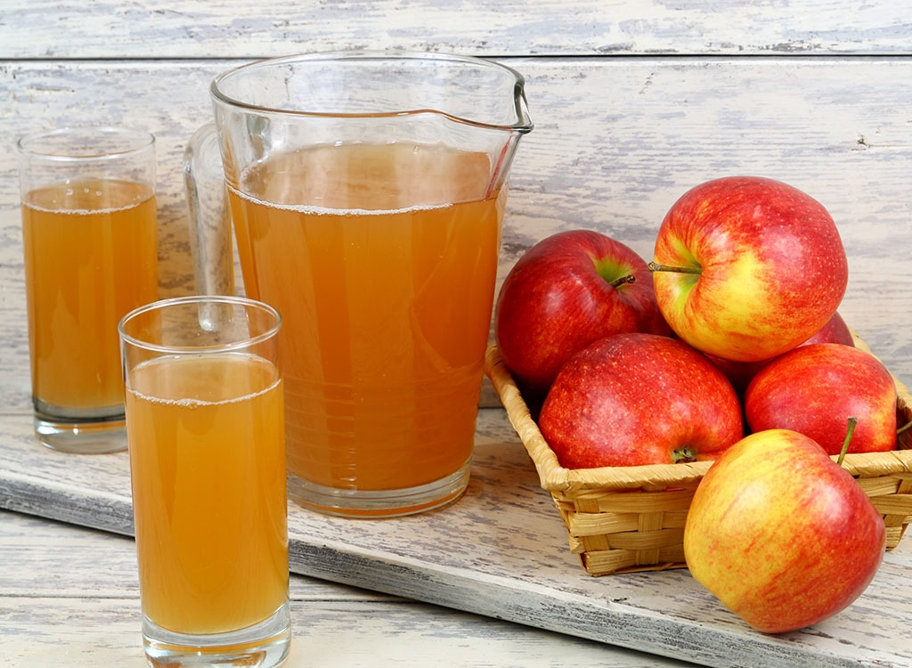 benefits of drinking apple juice