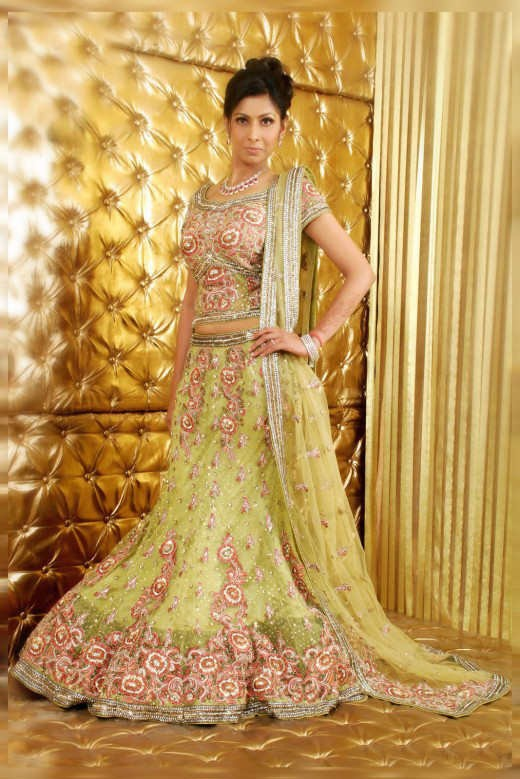 bridal lehenga for reception