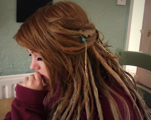 dreadlock for hippie hairstyle