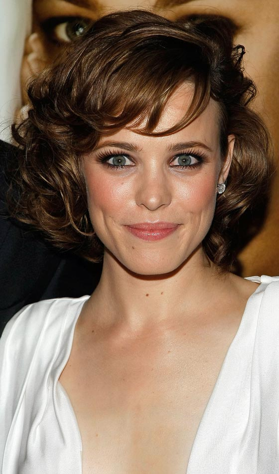 hairstyle for short hairs and big forehead
