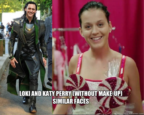 comparision of katy perry with lauki