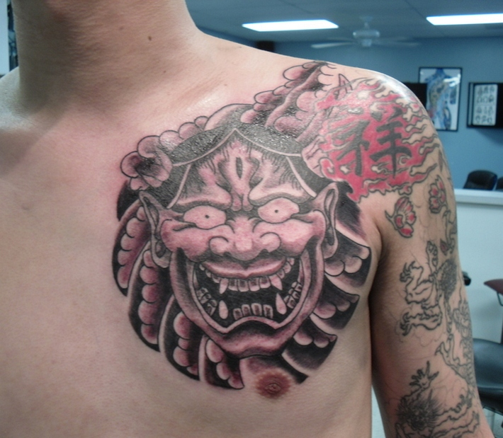 50 Best Traditional Samurai Tattoo Designs Their Meaning For Men