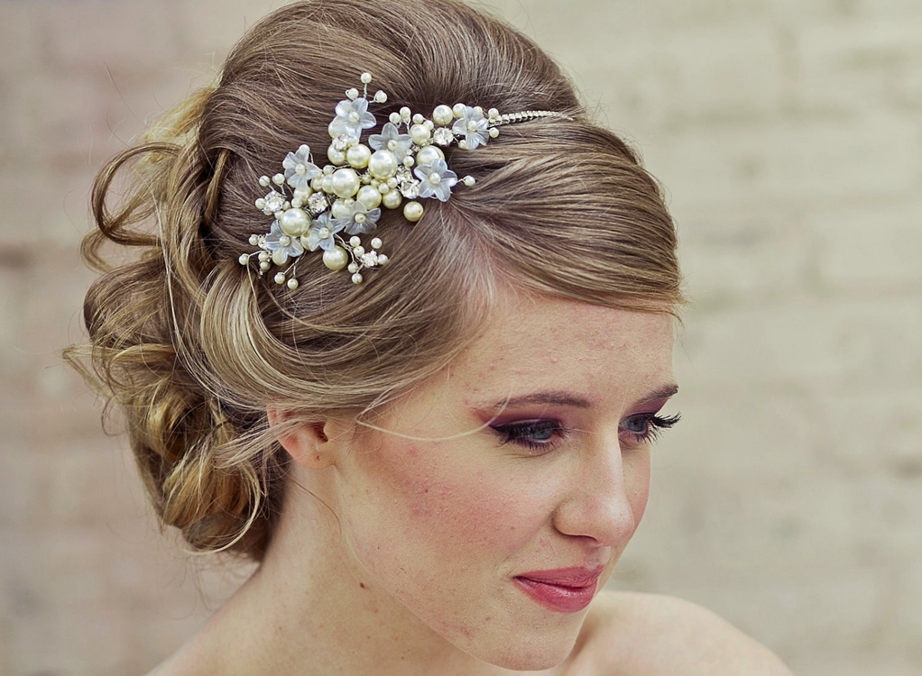 bridal hippie hairstyle