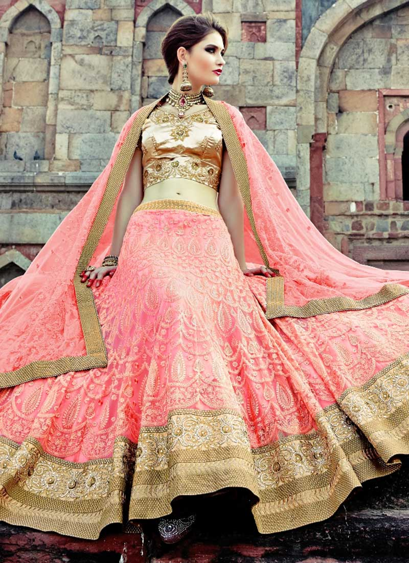 Traditional wedding lehenga