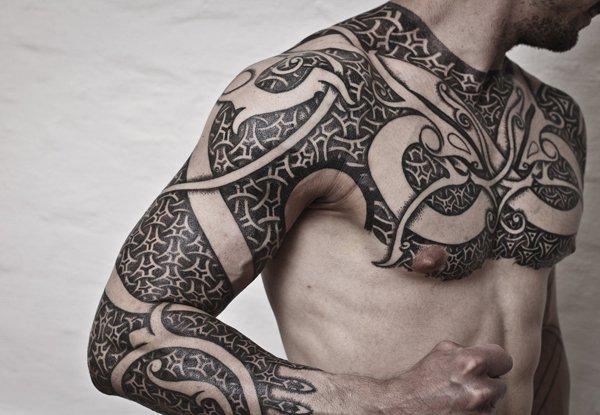 freehand polynesian maori tattoo
