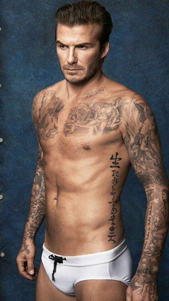 chest 'david beckham tattoo