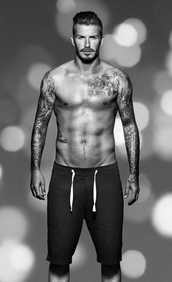 Beckham Chest Tattoo