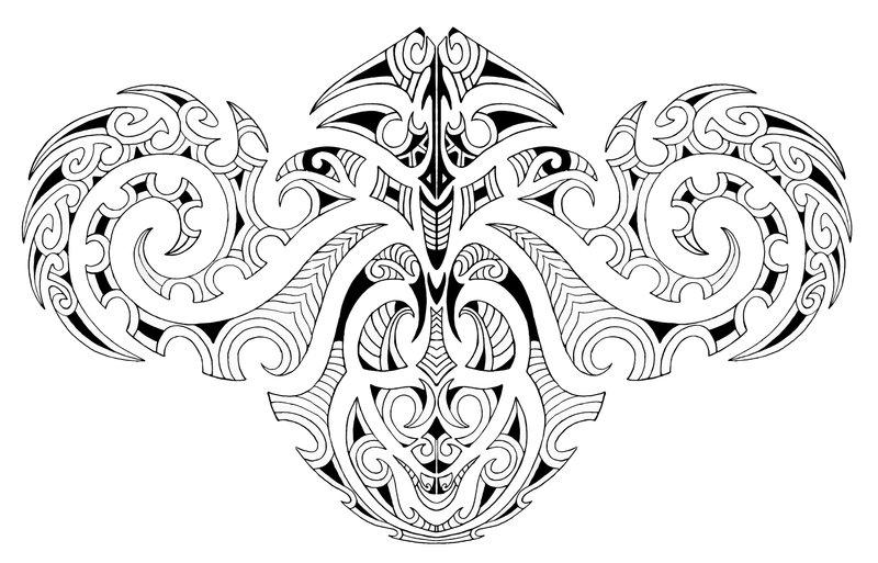 arm piece maori tattoo