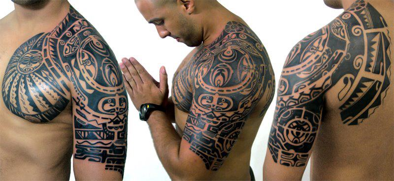 maori tattoo design for body