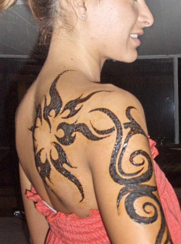 maori tattoo on arms