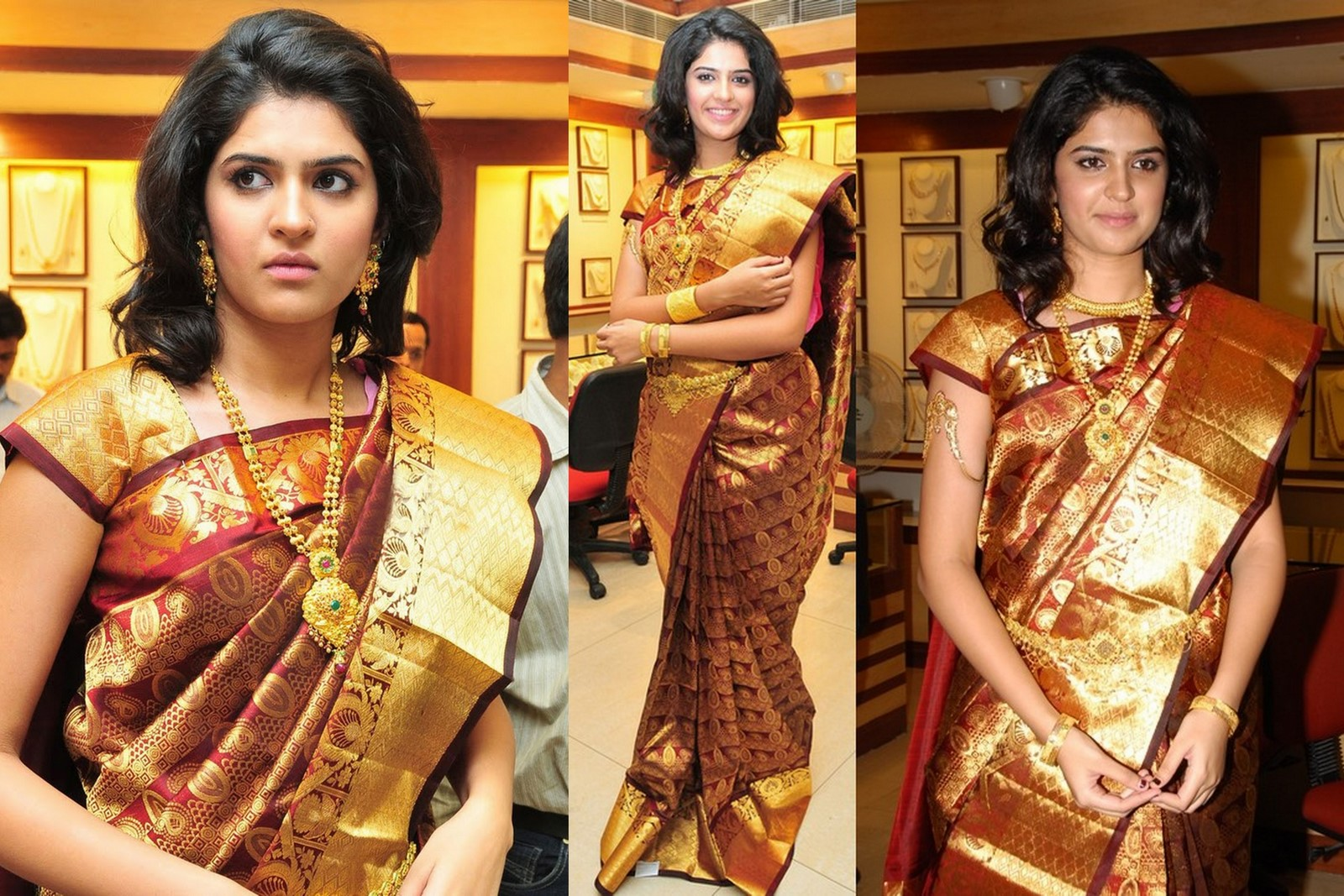 short sleeve blouse for kanchi pattu silk saree