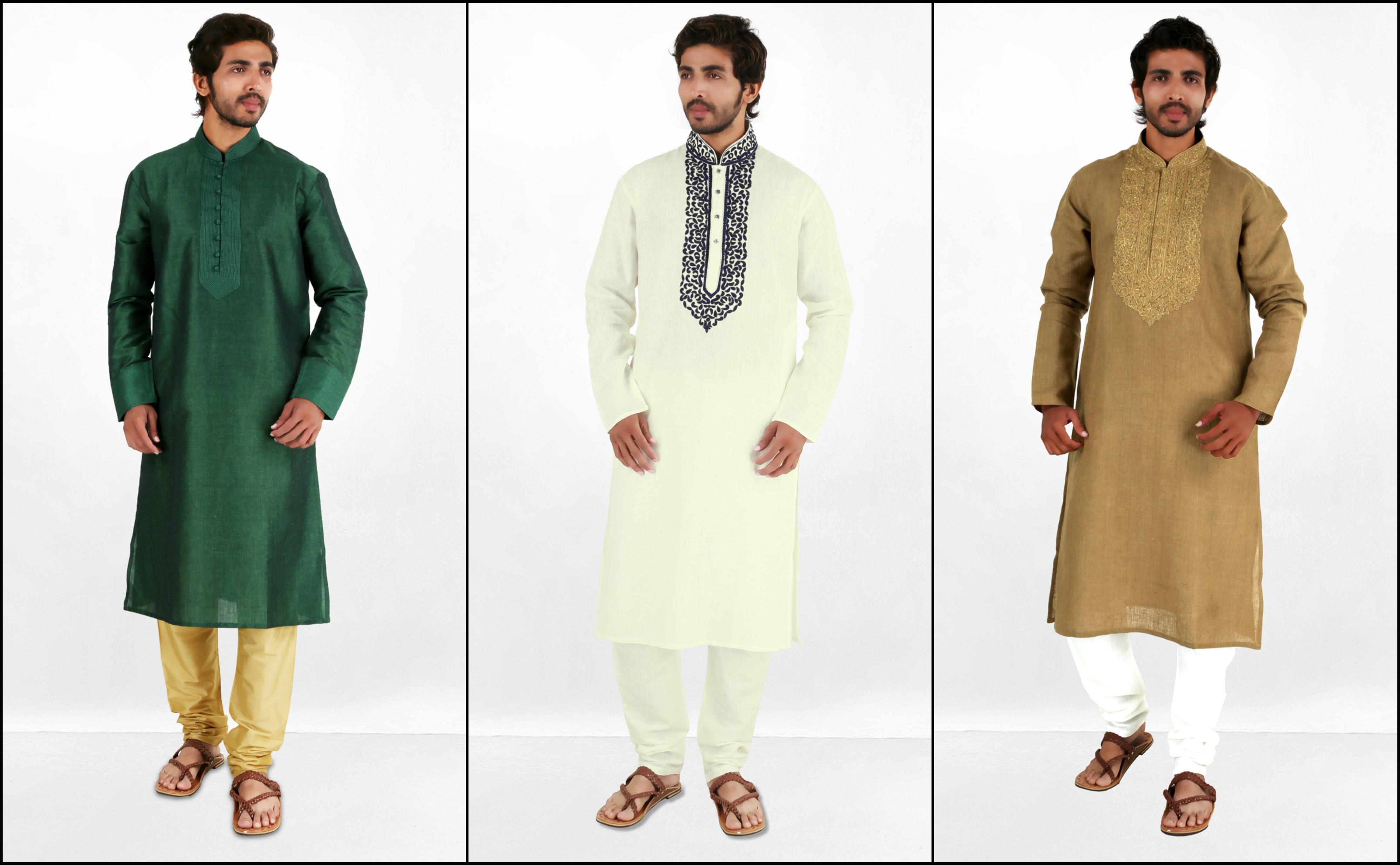 indian kurta pyjama for men