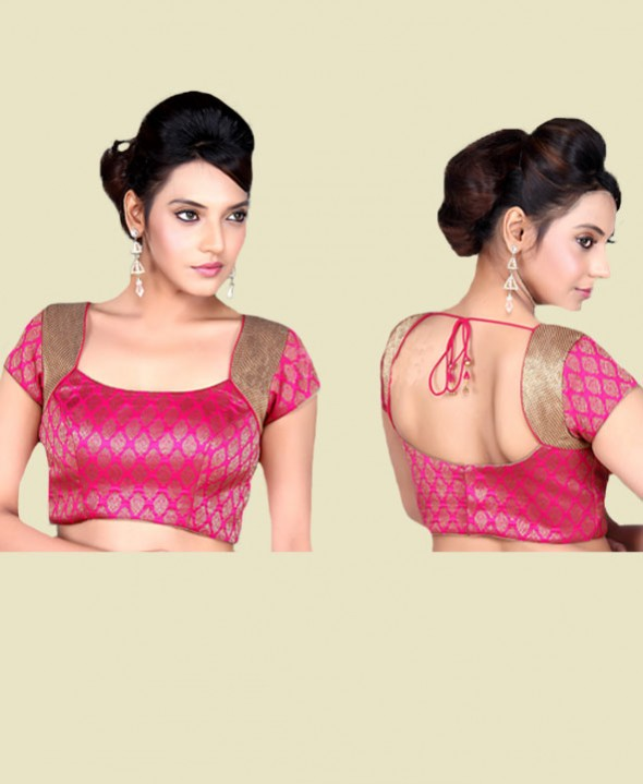 blouse design for silk saree
