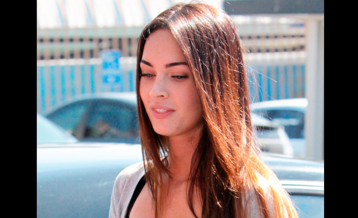 megan fox without make up on street