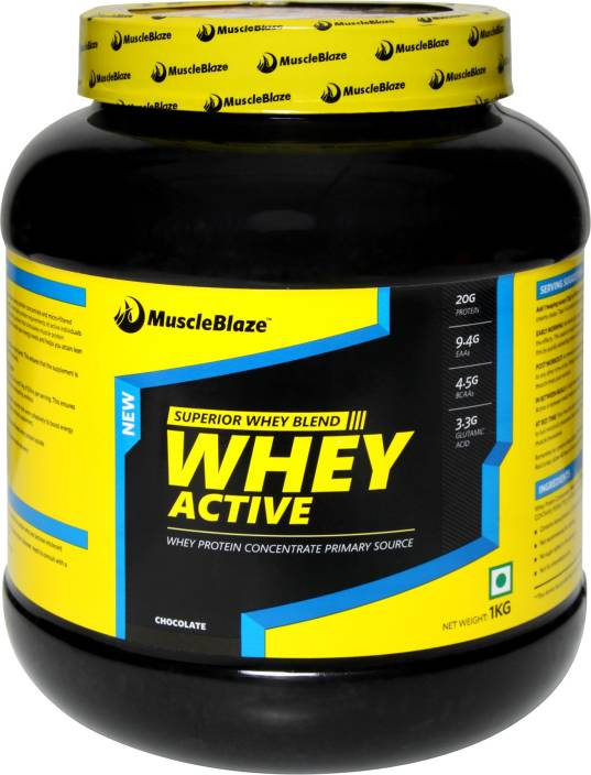 MuscleBlaze Whey Active Whey protein