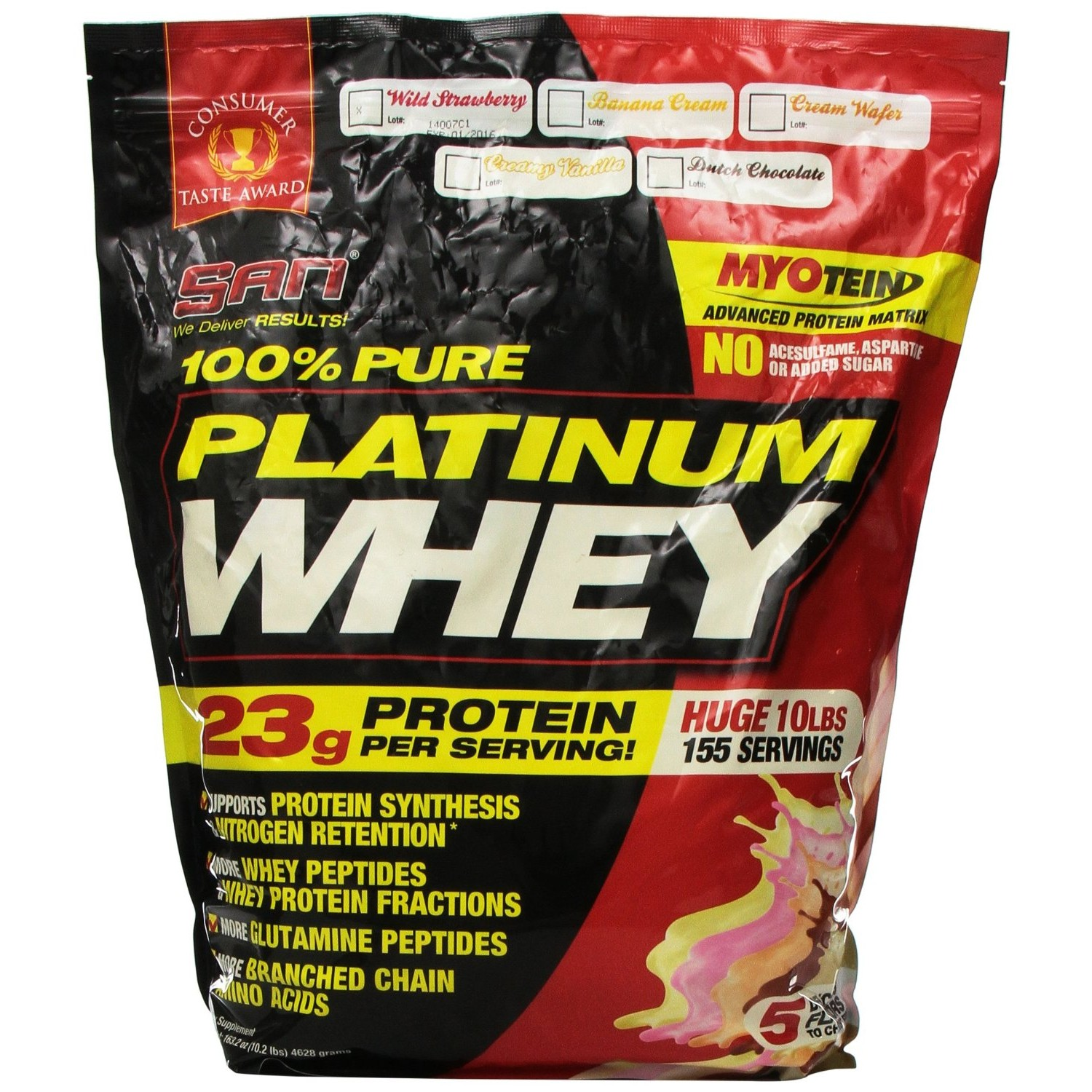 SAN 100% Pure Platinum Whey