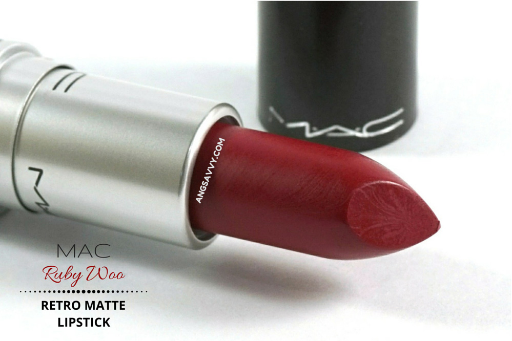 Mac Retro Matte Lipstick-Ruby woo