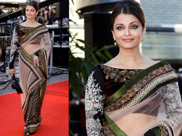 fabulous blouse design for silk saree