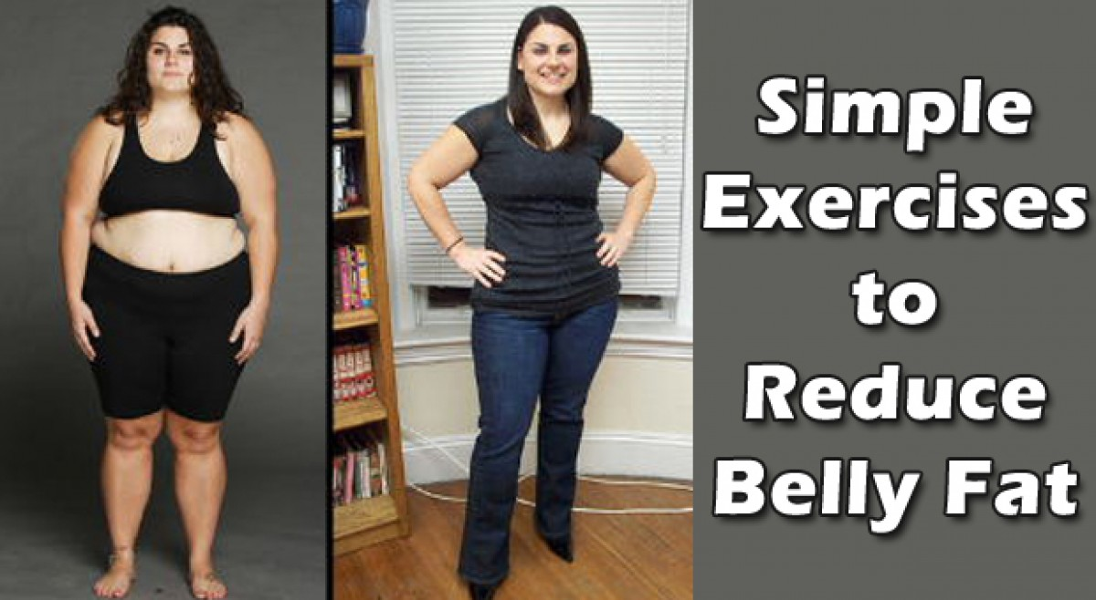 simple exercise to reduce belly fat from your body