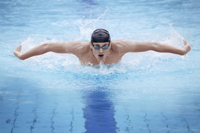 swimming to reduce belly fat